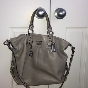 Coach satchel cross body